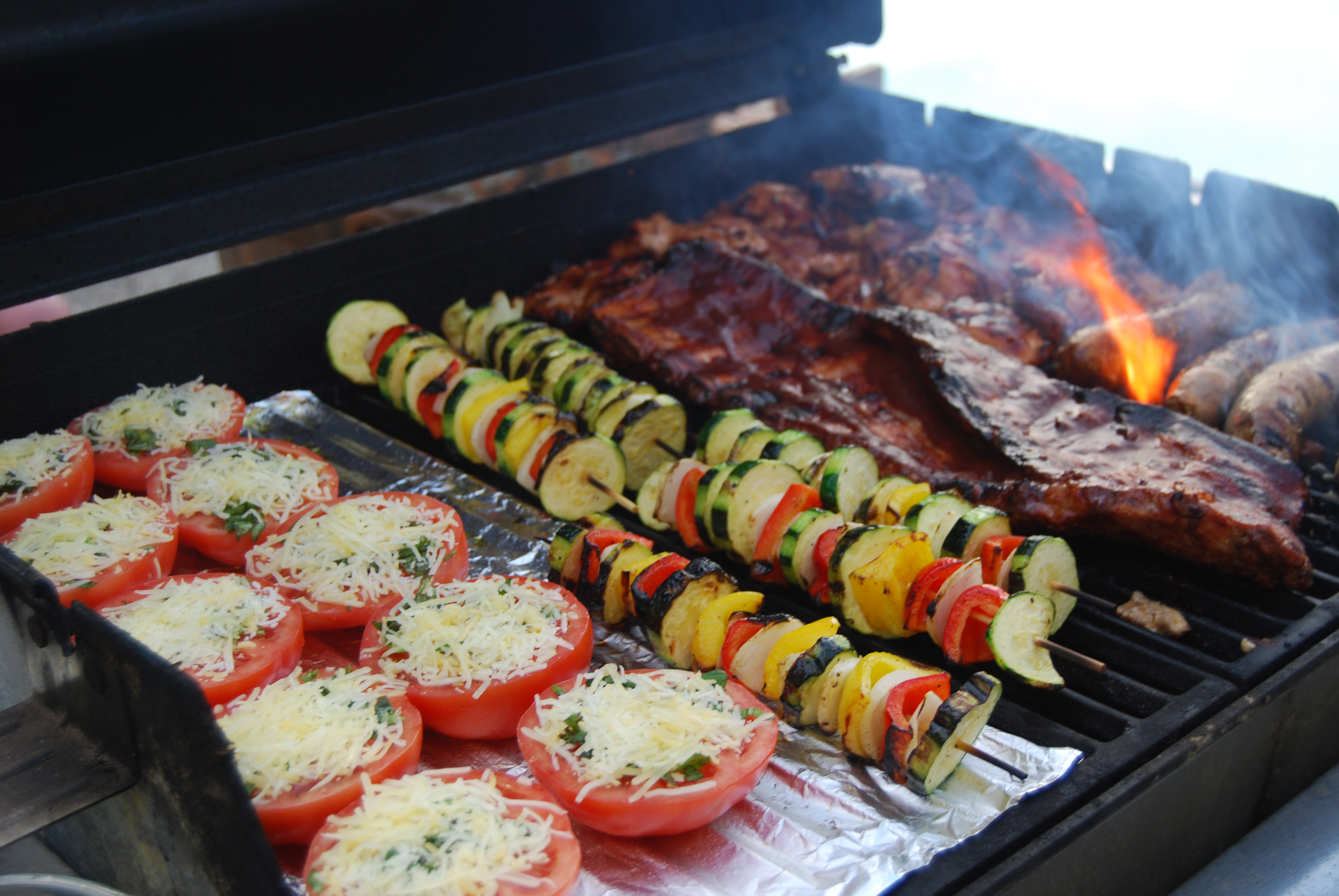 my classic grilled veggies