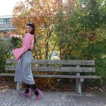 Pink metallic skirt and my fav combo! A new lookhellip