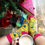 Cozy Friday with funny socks and a warm cappuccino underhellip