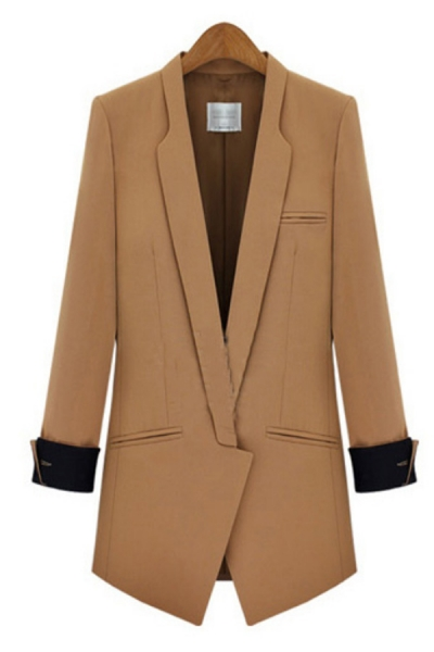 shawl-collar-cuffed-sleeve-blazers