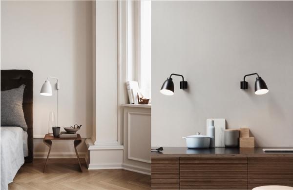 Lampcommerce caravaggio lampada parete tavolo Lightyears