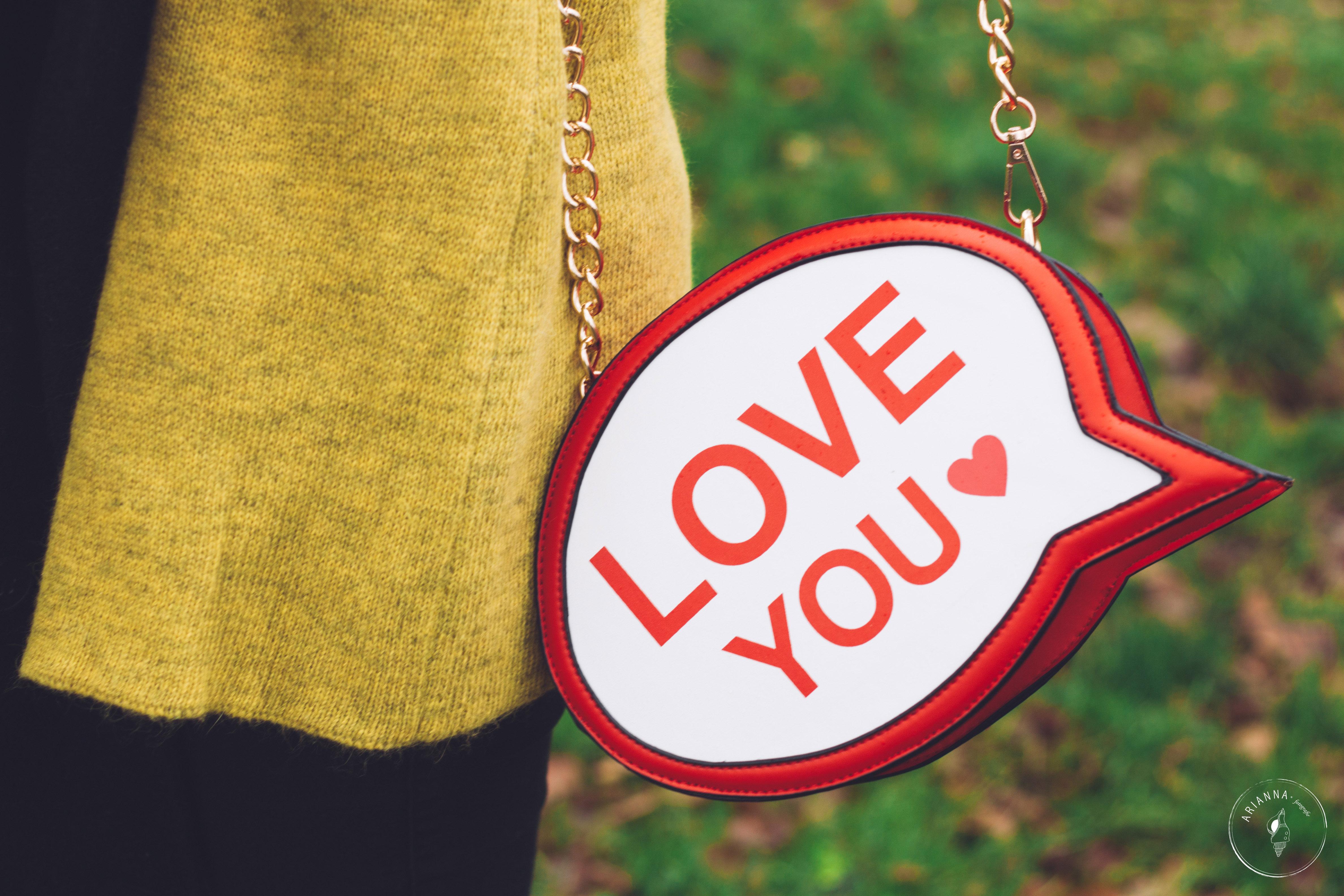 i love you bag minueto