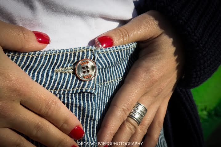 come indossare le righe