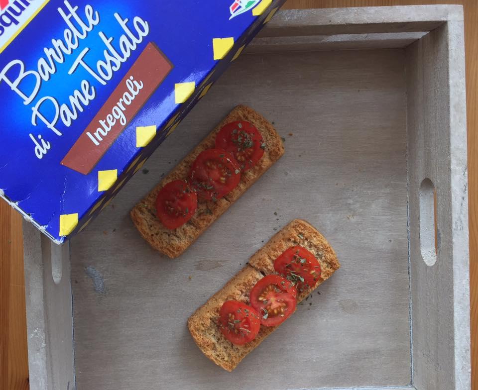 barrette di pane tostato