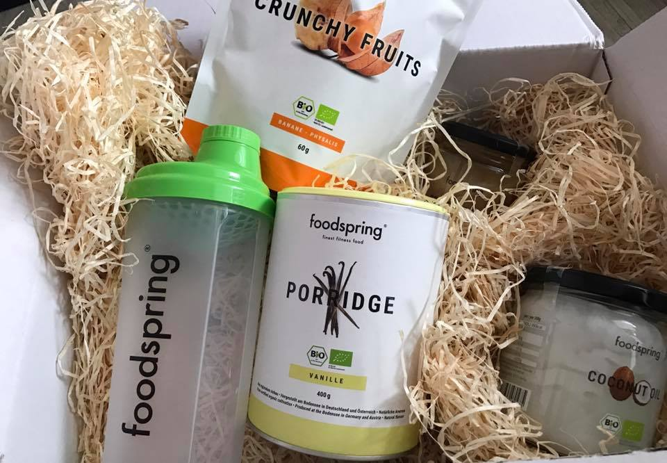 Foodspring:il mio cibo post workout