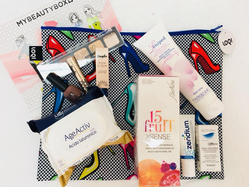 Back To Cool la MYBEAUTYBOX di Agosto 2017