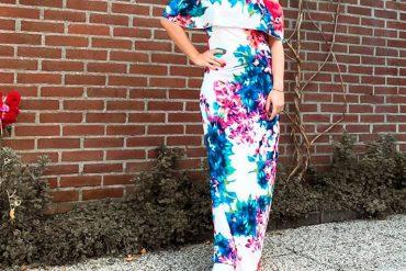 Trend alert : Maxi dress floreale