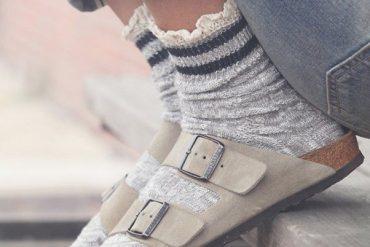 Sandali in inverno?Sì ma solo con i calzini!