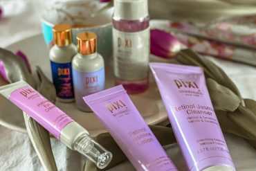 Pixi presents the new retinol & jasmine collection